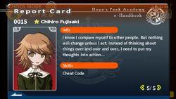 Chihiro Fujisaki Report Card Page 5