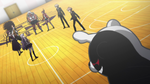 Danganronpa the Animation (Episode 08) - Monokuma revealing the Mole (25)