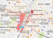 Nico Cafe map