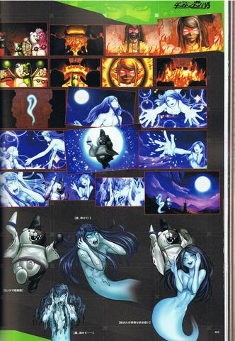 File:Art Book Scan Danganronpa V3 Oshioki Movie Shots Example Page (2).png