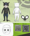 Art Book Scan Danganronpa V3 Ryoma Hoshi Designs