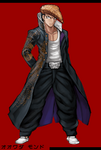Danganronpa 1 Fullbody Profile Mondo Owada