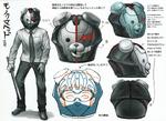 Danganronpa Another Episode Beta Design Unnamed Monokuma Helmet Adult