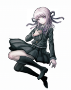 Danganronpa Kirigiri Kyoko Kirigiri Child Illustration