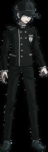 Danganronpa V3 Shuichi Saihara Fullbody Sprite (Hat) (17)