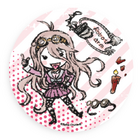 GraffArt Can Badge Miu Iruma