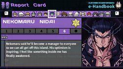Nekomaru Nidai's Report Card Page 6