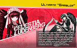 Promo Profiles - Danganronpa 1.2 (English) - Celestia Ludenberg