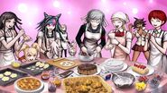 All girls baking plus hinata