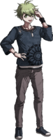 Danganronpa V3 Rantaro Amami Fullbody Sprite (17)