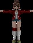 Danganronpa VR - Model - Aoi Asahina (1)