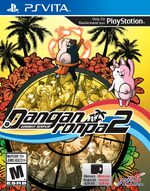 Danganronpa 2 Goodbye Despair Box Art - Vita - North America