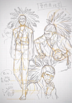Danganronpa 3 - Danganronpa Project Trailer Sketches - Yasuhiro Hagakure