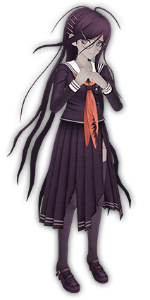 File:Danganronpa Another Episode Touko Toko Fukawa 3D Fullbody.png