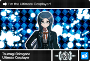 Danganronpa V3 Bonus Mode Card Tsumugi Shirogane N ENG