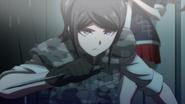 Despair Arc Episode 6 - Mukuro killing a guard