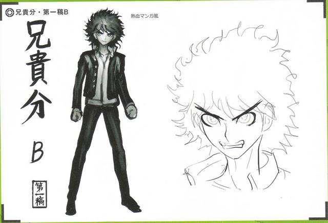 File:Art Book Scan Danganronpa V3 Character Designs Betas Kaito Momota (2).png