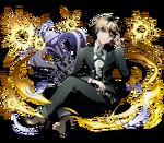 Divine Gate x Danganronpa 1.2 Byakuya Evolved Artwork