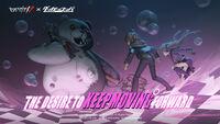 Identity V x Danganronpa splash screen illustration