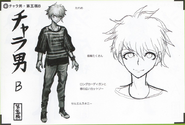 Art Book Scan Danganronpa V3 Character Designs Betas Rantaro Amami (5)