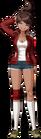 Danganronpa 1 Aoi Asahina Fullbody Sprite (PSP) (6)