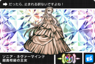 Danganronpa V3 Bonus Mode Card Sonia Nevermind U JPN