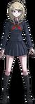 Danganronpa V3 Kaede Akamatsu Fullbody Sprite (High School Uniform) (2)