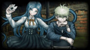 Danganronpa V3 Steam Card - Tsumugi Shirogane and Rantaro Amami