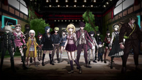 Danganronpa V3 CG - Pre-Game Students in their talent outfits (PC) (2)