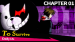 Danganronpa 1 CG - Chapter Card Daily Life (Chapter 1)
