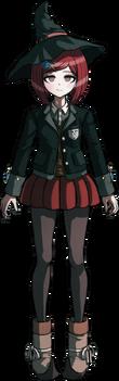 Danganronpa V3 Himiko Yumeno Fullbody Sprite (1)