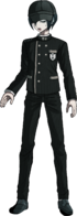 Danganronpa V3 Shuichi Saihara Fullbody Sprite (Hat) (11)
