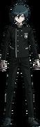 Danganronpa V3 Shuichi Saihara Fullbody Sprite (No Hat) (1)