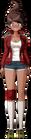 Danganronpa 1 Aoi Asahina Fullbody Sprite (PSP) (24)