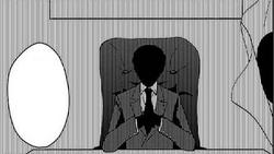 Ishimaru's Grandfather in the manga