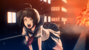 Komaru Naegi surviving the helicopter crash 2