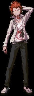 Danganronpa 1 Leon Kuwata Fullbody Sprite (PSP) (4)