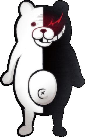 File:Danganronpa 1 Monokuma Fullbody Sprite 02.png