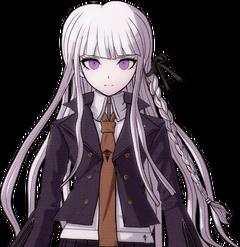 Danganronpa 2 Kyoko Kirigiri Halfbody Sprite (1)