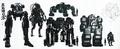 Danganronpa Another Episode Beta Design Warriors of Hope Robots