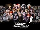 Danganronpa 1 Wallpaper - Group - English (1024 x 768)