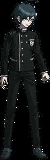 Danganronpa V3 Shuichi Saihara Fullbody Sprite (No Hat) (17)