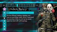 Korekiyo Shinguji Report Card Page 2 (For Shuichi)