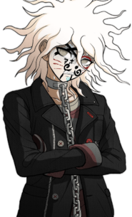 Nagito Komaeda The Servant Halfbody Sprite (13)