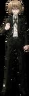 Danganronpa 1 Byakuya Togami Fullbody Sprite (PSP) (6)