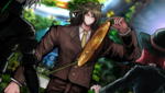 Danganronpa V3 CG - Gonta Gokuhara lifting up the manhole cover