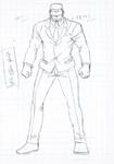 Danganronpa 3 - Character Profiles - SHSL Judo Master (Sketches)