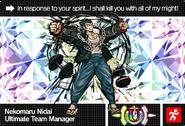 Danganronpa V3 Bonus Mode Card Nekomaru Nidai U ENG