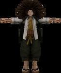 Danganronpa VR - Model - Yasuhiro Hagakure (1)