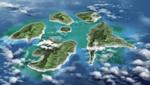 Danganronpa 2 CG - An overview of Jabberwock Island